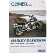 Clymer books service manual - Repair Manuals Fits: > 91-98 Dyna