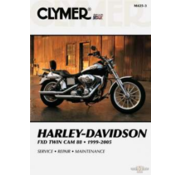 Clymer Harley Davidson Bücher Clymer Servicehandbuch - Dyna Series 99-05 Reparaturhandbücher