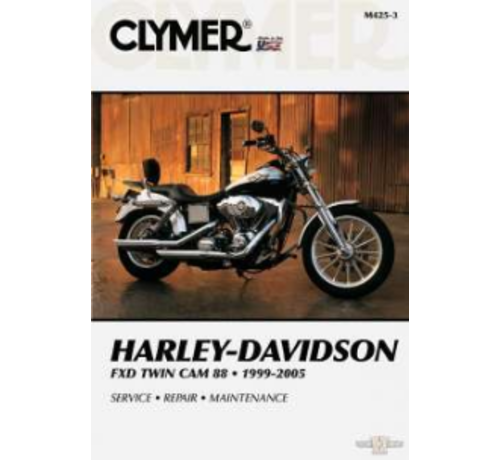 Clymer Clymer  books service manual - Repair Manuals Fits: > 99-05 Dyna