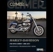 Clymer Harley Davidson boekt Clymer service manual - Dyna Series 06-11 reparatiehandleidingen