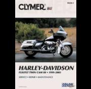 Clymer Harley Davidson boekt Clymer service manual - Touring Series 99-05 reparatiehandleidingen