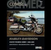 Clymer Harley Davidson Bücher Clymer Servicehandbuch - Touring Series 06-09 Reparaturhandbücher