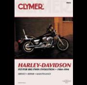 Clymer Harley Davidson boekt Clymer service manual - FX Series 85-94 reparatiehandleidingen