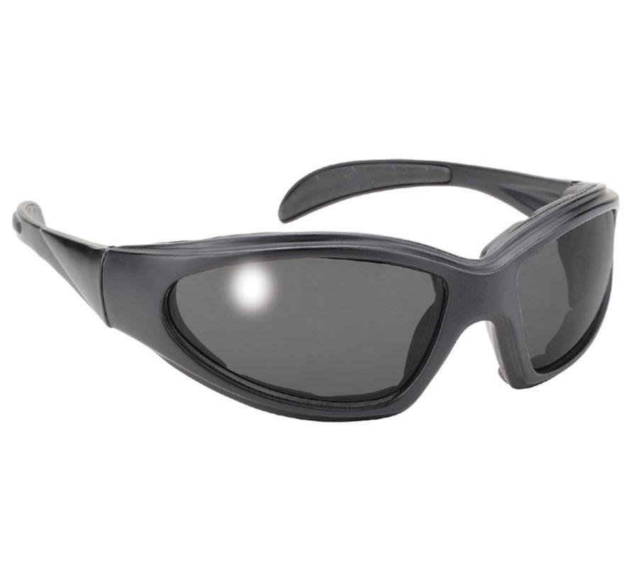 Kickstart chopper sunglasses - smoke  Fits: > All Bikers