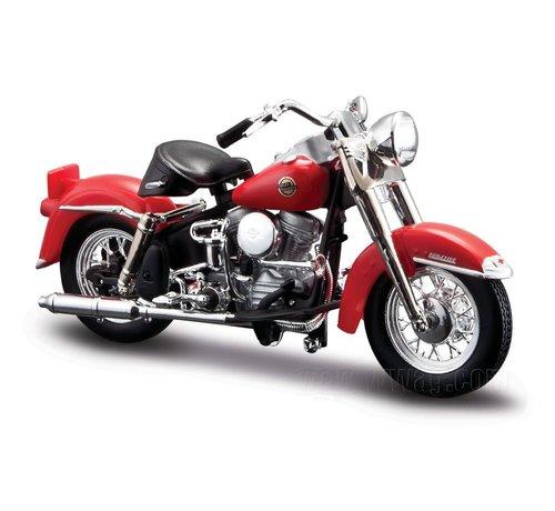 Maisto Harley Davidson Model 1958 FLH Duo Glide 1:18