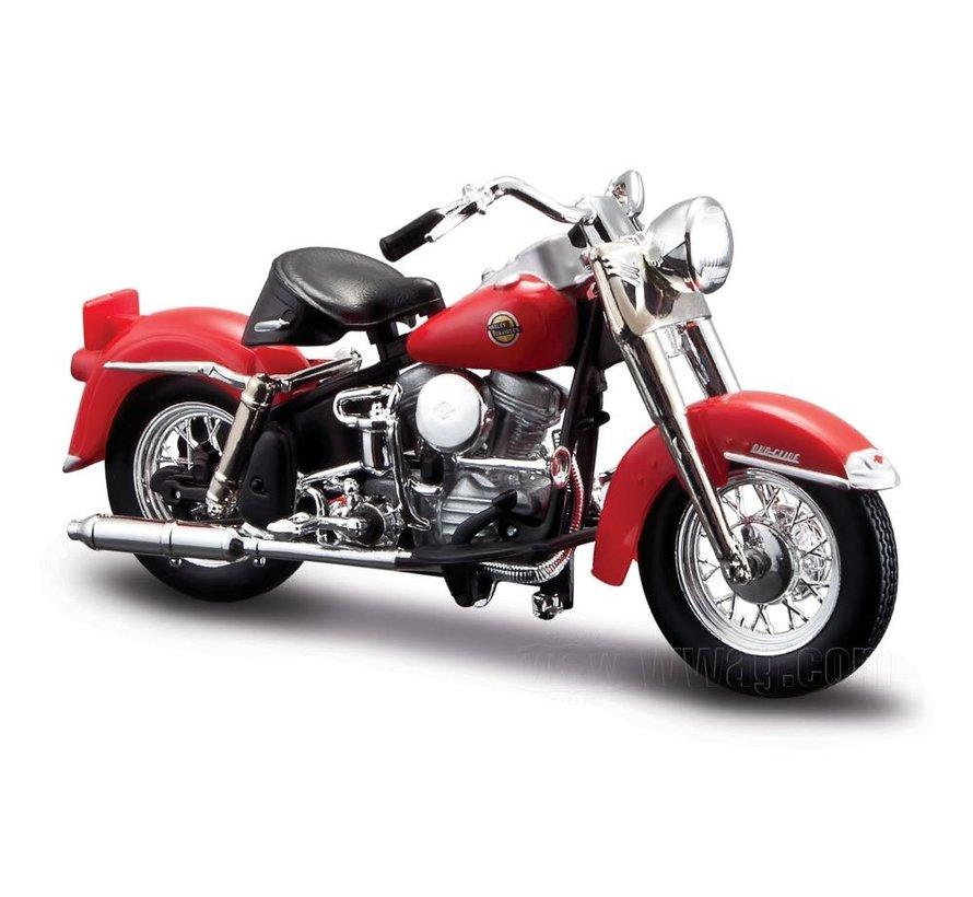 Harley Davidson Model 1958 FLH Duo Glide 1:18
