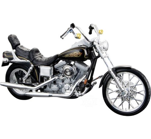 Maisto Harley Davidson Model FXDWG Dyna Wide Glide 1:18