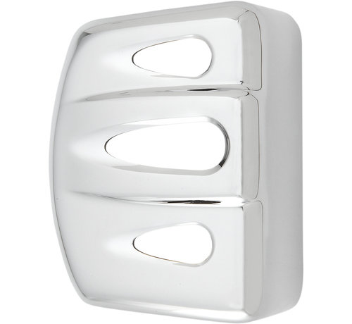Arlen Ness Harley Davidson Deep Cut Coil Cover - Chrome  fits 06-13 FXD, 00-13 Softail