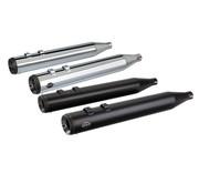 S&S Power Tune Grand National Schalldämpfer 4 Zoll Schwarz oder Chrom - Passend für:> 95-16 FLHT / FLTR / FLHR / FLHX