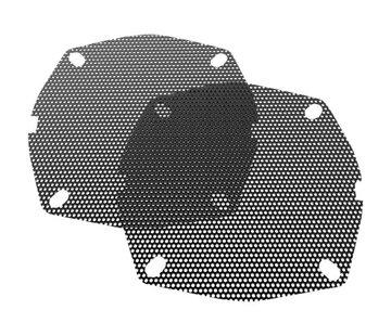 Hogtunes Vervangende luidsprekerroosters - Voor 99-13 FLHT / FLHX / FLHTCU / FLHTK