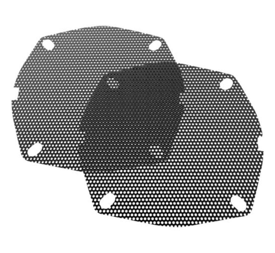 Harley Davidson vervangende luidsprekerroosters - voor 99-13 FLHT / FLHX / FLHTCU / FLHTK