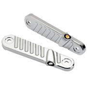 Joker Machine Streamliner LED-richtingaanwijzers vooraan passen op 14-20 FLHX-modellen