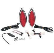 RWD LED Cat-Eye Lights Rückensatteltasche