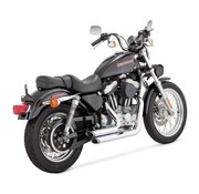 Vance & Hines shortshots staggered, 2 1/8 inch Fits: > 99-03 XL Sportster
