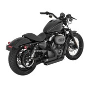 Vance & Hines exhaust staggered shortshots black or chrome Fits: > 04-13 XL Sportster
