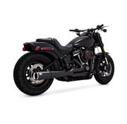 Vance & Hines pro pipe black or chrome Fits: > 18-20 Softail FLFB/S Fat Boy, FXBR/S Breakout