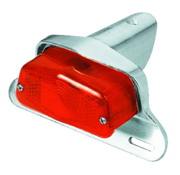 Lucas style taillight with universal mounting