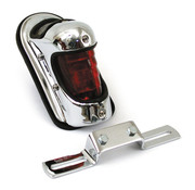MCS taillight beehive  chrome Fits: > 39-46 H-D