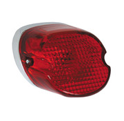 TC-Choppers taillight laydown red Fits: > 73-98 H-D