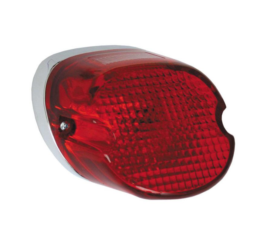 Harley Davidson achterlicht laydown rood Past op:> 73-98 HD