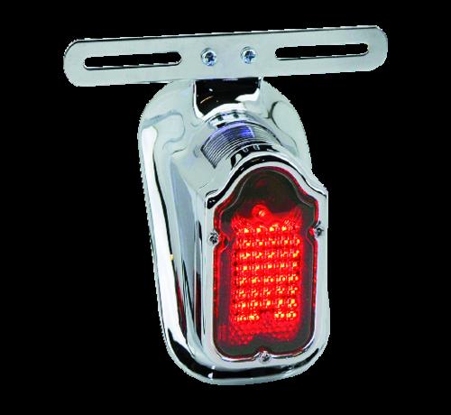 TC-Choppers Harley Davidson achterlicht LED-grafsteen meeste modellen van 1940 tot 1954