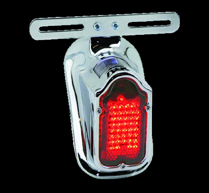 Harley Davidson achterlicht LED-grafsteen meeste modellen van 1940 tot 1954