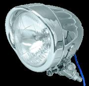 TC-Choppers spotlight Chrome long body bottom mount 4 1/2 inch