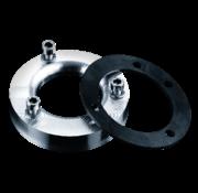 Rebuffini Adapter für Luftfilter im CV-Stil an Mikuni HSR Vergaser