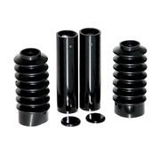 CULTWERK Fork Cover Kit, 4-Piece, Black  Fits: > 04-20 Sportster