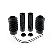 Cult Werk front fork bobber boots black set Fits: > 10-15 XL1200X Forty Eight