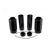 Cult Werk front fork bobber boots black set Fits: > 13-17 FXSB Breakout