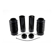 CULTWERK front fork bobber boots black set Fits: > 13-17 FXSB Breakout