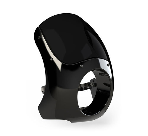 BURLY Harley Davidson Burly Classic Cafe fairing ABS Fits: > For most bikes with 5 3/4 headlamp