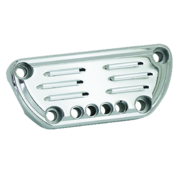 TC-Choppers Billet aluminum with bracket recess and control light holes