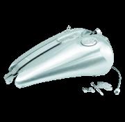 TC-Choppers Gastank einteilig 2 Zoll gedehnt mit Armaturenbretthalterung Passend für:> FXR