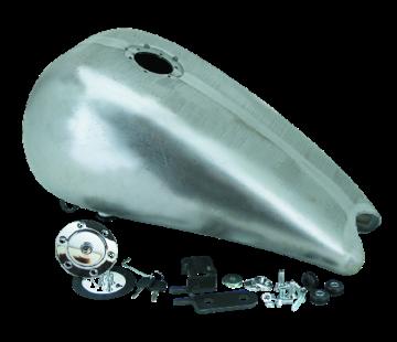 TC-Choppers gas tank gas tank tankdop een stuk 3 inch uitgerekt staal met aero lock King Softails - tot 1999 als dop een stuk 3 inch uitgerekt staal met aeroslot King Softails - 1999