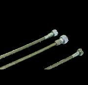 Zodiac speedo kabels transmissie aangedreven - helder gecoat gevlochten roestvrij staal