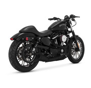 Vance & Hines exhaust upsweep  black Fits: > 04-20 Sportster