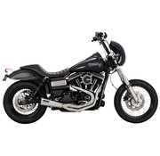 Vance & Hines exhaust stainless 2-1 upsweep Fits: > 91-17 Dyna