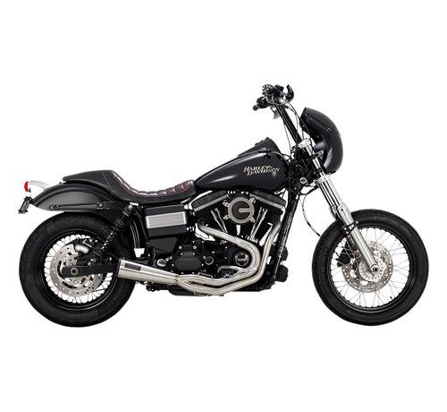 Vance & Hines Harley Davidson Vance und Hines Auspuff rostfrei 2-1 Upsweep Passend für:> 91-17 Dyna