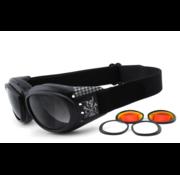 King Kerosin Brille Sonnenbrille King Kerosin: KK175 Passend für:> alle Biker