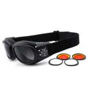 King Kerosin Goggle Sunglasses King Kerosin: KK175 Fits: > all Bikers