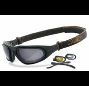 Helly Brille Sonnenbrille Adler Übergänge - Rauch Passend für:> alle Biker