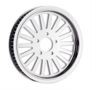 RevTech wheel rear 20mm pulley nitro 18 Fits: 07-17 FLSTF/FXST with 200 Tire, 08-11 FXCW/C