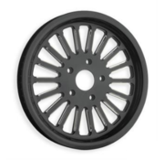 RevTech Nitro-18 20 mm, 70-Tooth, Black Fits: > FXST 2006 with 200 tire
