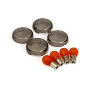 TC-Choppers knipperlicht lens kit bullet smoke Past op:> 02-17 V-Rod