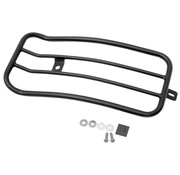 "Motherwell 7"" Solo Luggage Rack black or chrome Fits: > 06-17 FXD"