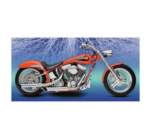 Paughco Harley Davidson BALONEY-SLICE AUSPUFFANLAGE FÜR SHOVELHEAD FX MODELLE - Copy - Copy - Copy - Copy