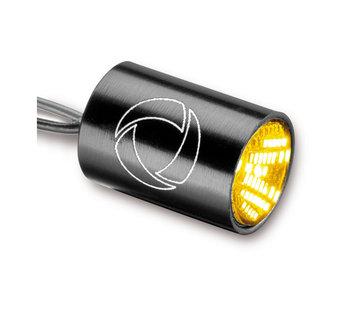 Kellerman Atto® Integral richtingaanwijzer. Zwarte, heldere lens Past op:> Universeel