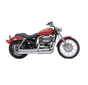 Cobra peedster Short 2 into 2 Full Exhaust;  Fits: >  Sportster XL 07-13